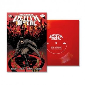DARK NIGHTS DEATH METAL #1, #2, AND #3 SOUNDTRACK INCLUDING ALL 3 FLEXI SINGLES