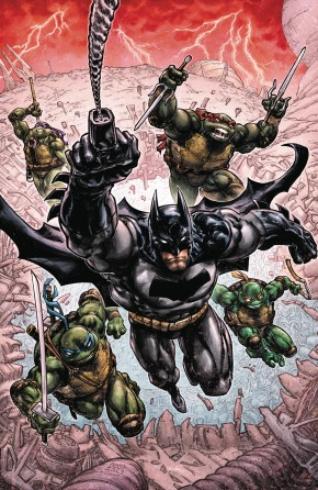 BATMAN TEENAGE MUTANT NINJA TURTLES III GRAPHIC NOVEL
