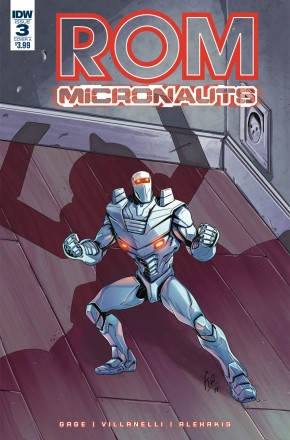 ROM AND THE MICRONAUTS #3