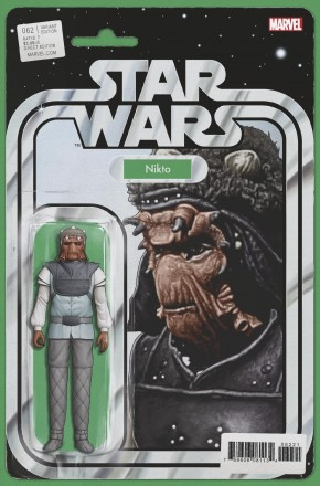 STAR WARS #62 (2015 SERIES) CHRISTOPHER ACTION FIGURE VARIANT