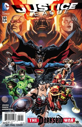 JUSTICE LEAGUE #50 2ND PRINTING (2011 SERIES)