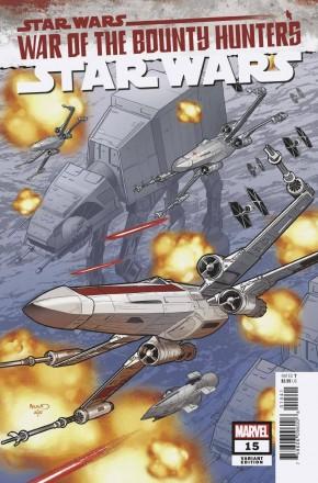 STAR WARS #15 (2020 SERIES) RENAUD 1 IN 25 INCENTIVE VARIANT
