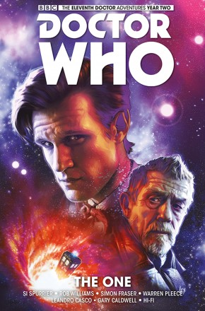 DOCTOR WHO 11TH VOLUME 5 THE ONE GRAPHIC NOVEL