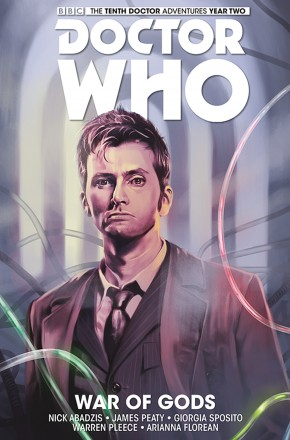 DOCTOR WHO 10TH DOCTOR VOLUME 7 WAR OF GODS HARDCOVER