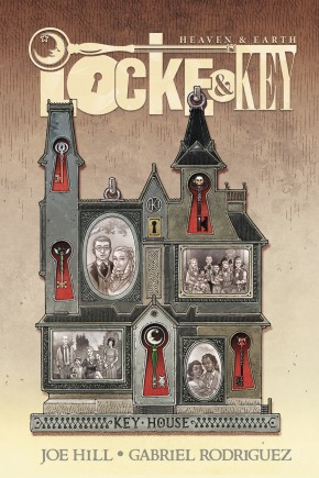 LOCKE AND KEY HEAVEN AND EARTH DELUXE EDITION HARDCOVER