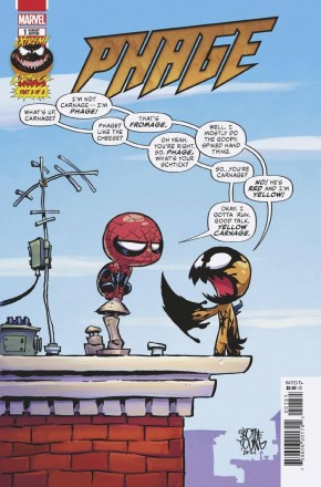 EXTREME CARNAGE PHAGE #1 YOUNG VARIANT