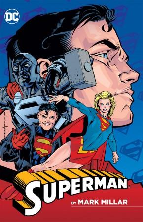 SUPERMAN BY MARK MILLAR GRAPHIC NOVEL