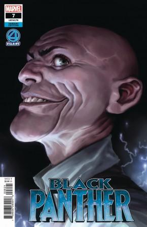 BLACK PANTHER #7 (2018 SERIES) DJURDJEVIC FANTASTIC FOUR VILLAINS VARIANT