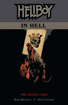 HELLBOY IN HELL VOLUME 2 DEATH CARD GRAPHIC NOVEL