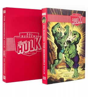 INCREDIBLE HULK SAL BUSCEMA MARVEL ARTIST SELECT HARDCOVER