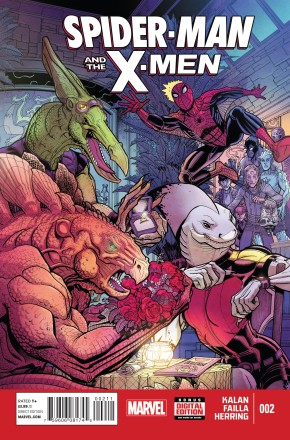 SPIDER-MAN AND THE X-MEN #2