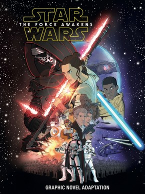 STAR WARS THE FORCE AWAKENS GRAPHIC NOVEL (IDW EDITION)