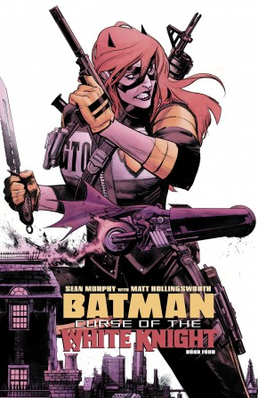 BATMAN CURSE OF THE WHITE KNIGHT #4