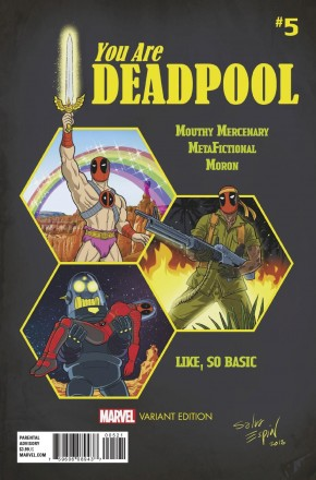 YOU ARE DEADPOOL #5 ESPIN RPG VARIANT