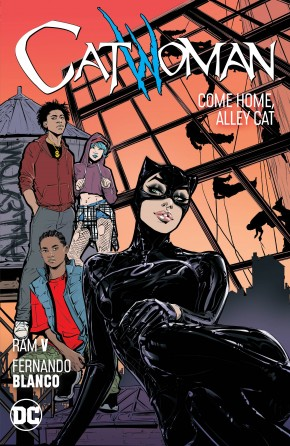 CATWOMAN VOLUME 4 COME HOME ALLEY CAT GRAPHIC NOVEL
