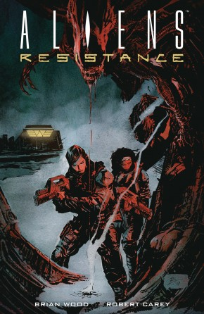 ALIENS RESISTANCE GRAPHIC NOVEL