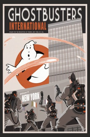 GHOSTBUSTERS INTERNATIONAL VOLUME 1 GRAPHIC NOVEL