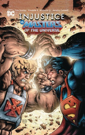 INJUSTICE VS THE MASTERS OF THE UNIVERSE GRAPHIC NOVEL
