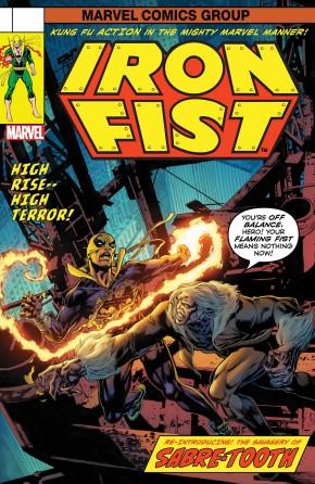 IRON FIST #73 (2017  SERIES) LEGACY PERKINS LENTICULAR VARIANT