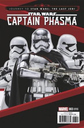 JOURNEY TO STAR WARS LAST JEDI CAPT PHASMA #3 MOVIE 1 IN 15 INCENTIVE VARIANT