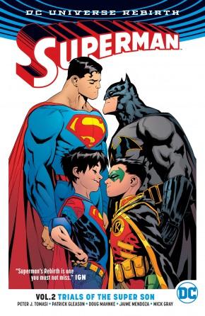 SUPERMAN VOLUME 2 TRIALS OF THE SUPER SON GRAPHIC NOVEL