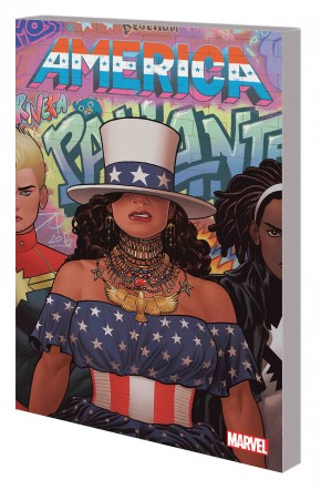 AMERICA VOLUME 1 LIFE AND TIMES OF AMERICA CHAVEZ DM VARIANT COVER