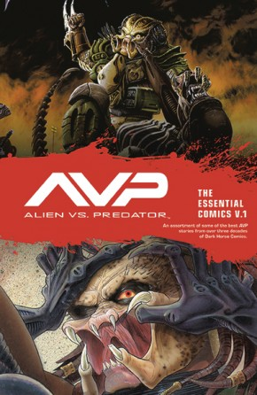 ALIENS VS PREDATOR THE ESSENTIAL COMICS VOLUME 1 GRAPHIC NOVEL
