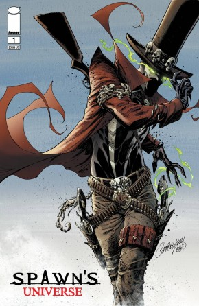 SPAWN UNIVERSE #1 COVER B CAMPBELL