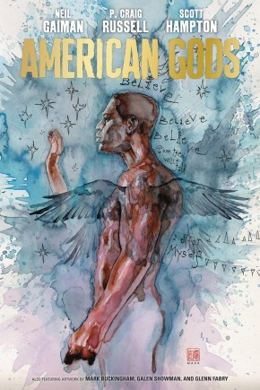 NEIL GAIMAN AMERICAN GODS VOLUME 2 MY AINSEL HARDCOVER