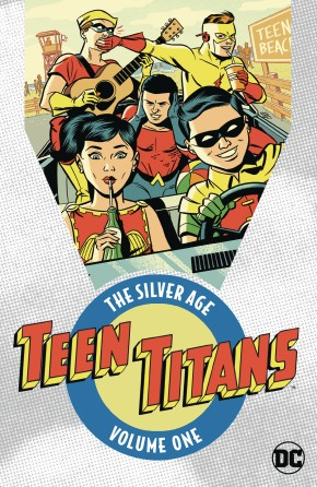 TEEN TITANS THE SILVER AGE VOLUME 1 GRAPHIC NOVEL