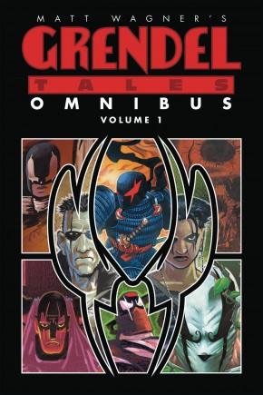 MATT WAGNER GRENDEL TALES OMNIBUS VOLUME 1 GRAPHIC NOVEL