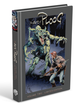 ART OF MIKE PLOOG VOLUME 2 SIGNED AND NUMBERED HARDCOVER