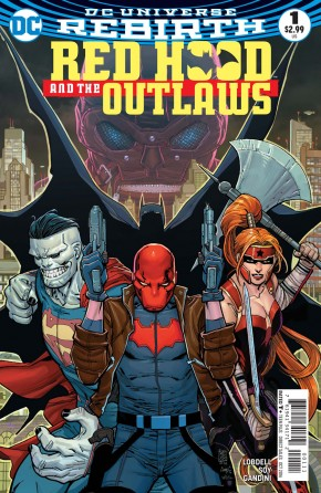 RED HOOD AND THE OUTLAWS VOLUME 2 #1
