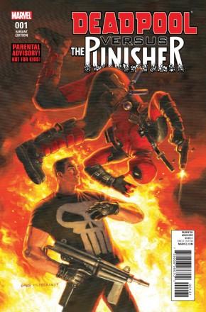 DEADPOOL VS PUNISHER #1 HILDEBRANT 1 IN 10 INCENTIVE VARIANT COVER