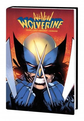 ALL NEW WOLVERINE BY TOM TAYLOR OMNIBUS HARDCOVER