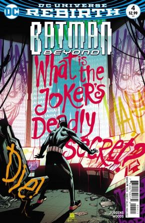 BATMAN BEYOND #4 (2016 SERIES)