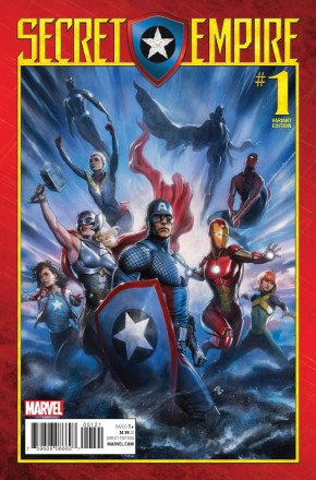 SECRET EMPIRE #1 GRANOV 1 IN 25 INCENTIVE VARIANT COVER