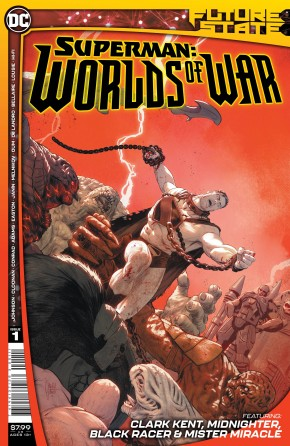 FUTURE STATE SUPERMAN WORLDS OF WAR #1