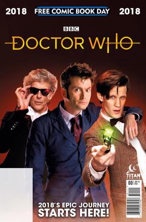 FCBD 2018 DOCTOR WHO #0