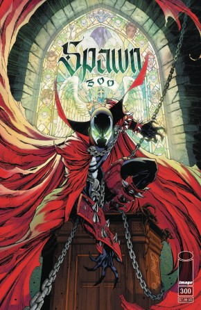 SPAWN #300 COVER G CAMPBELL
