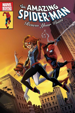 AMAZING SPIDER-MAN RENEW YOUR VOWS #13 (2016 SERIES) LEGACY RANDOLPH LENTICULAR VARIANT