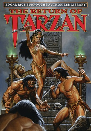 EDGAR RICE BURROUGHS AUTHORIZED LIBRARY EDITION TARZAN VOLUME 2 THE RETURN OF TARZAN HARDCOVER