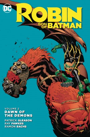 ROBIN SON OF BATMAN VOLUME 2 DAWN OF THE DEMONS GRAPHIC NOVEL