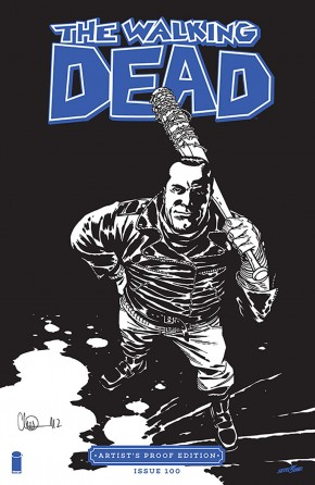 IMAGE GIANT SIZED ARTISTS PROOF EDITION THE WALKING DEAD #100
