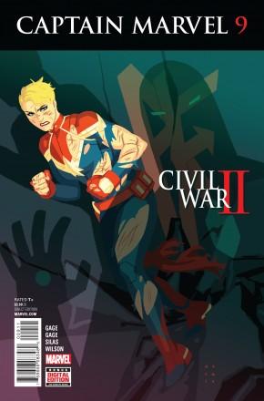 CAPTAIN MARVEL VOLUME 8 #9