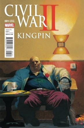 CIVIL WAR II KINGPIN #1 RIBIC VARIANT