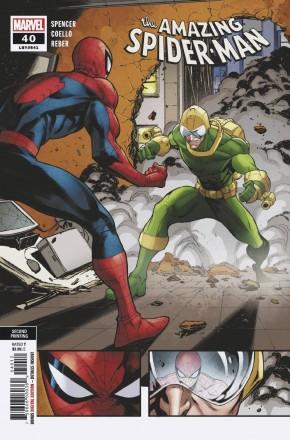 AMAZING SPIDER-MAN #40 (2018 SERIES) 2ND PRINTING