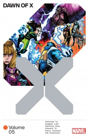DAWN OF X VOLUME 5 GRAPHIC NOVEL