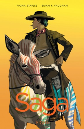 SAGA VOLUME 8 GRAPHIC NOVEL