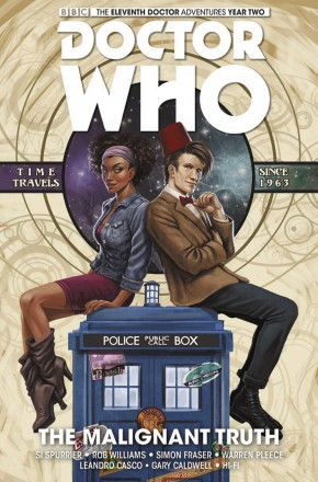 DOCTOR WHO 11TH DOCTOR VOLUME 6 MALIGNANT TRUTH HARDCOVER